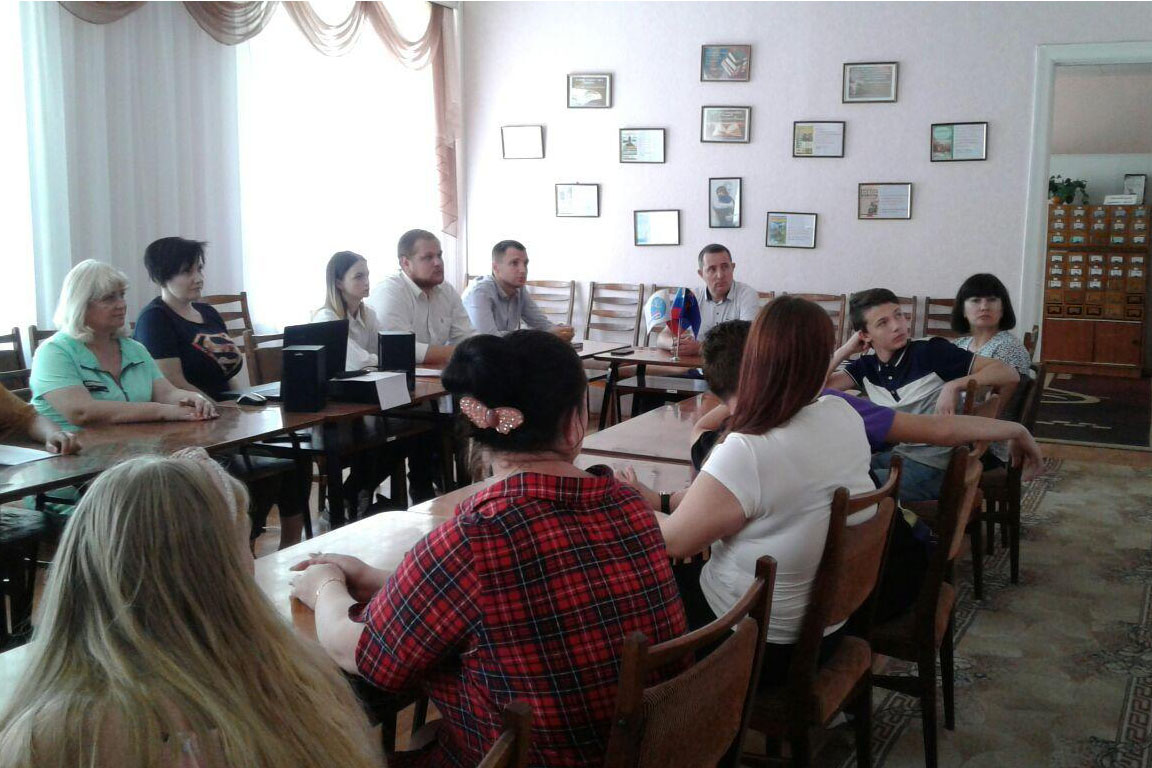 Круглый стол, посвященный 12-й годовщине признания Российской Федерацией независимости южной Осетии и Абхазии, состоялся в Стаханове 2