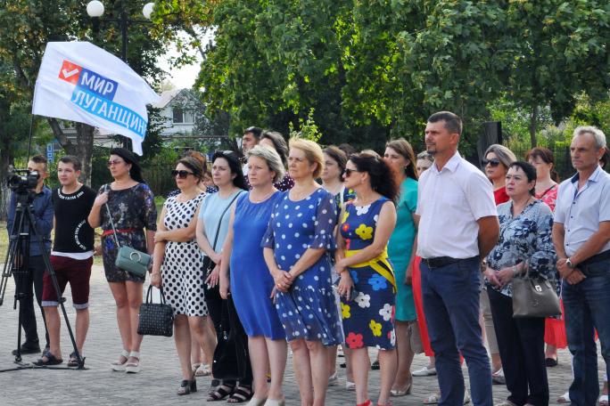 Активисты ОД «Мир Луганщине» из Свердловска провели митинг-реквием, посвящённый Дню Неизвестного Солдата – защитника ЛНР 2