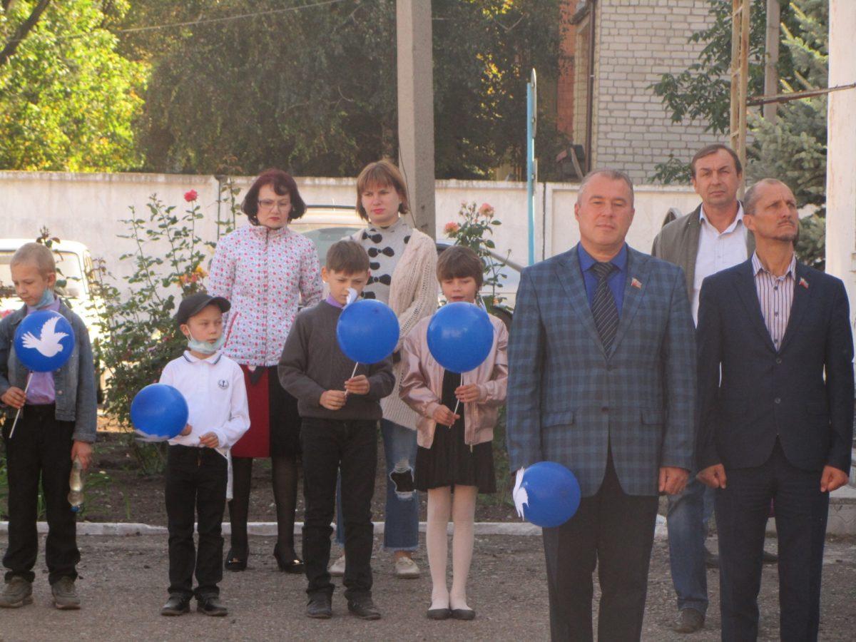 В Кировске состоялась акция «Мир нужен всем!», посвященная Международному дню мира 2