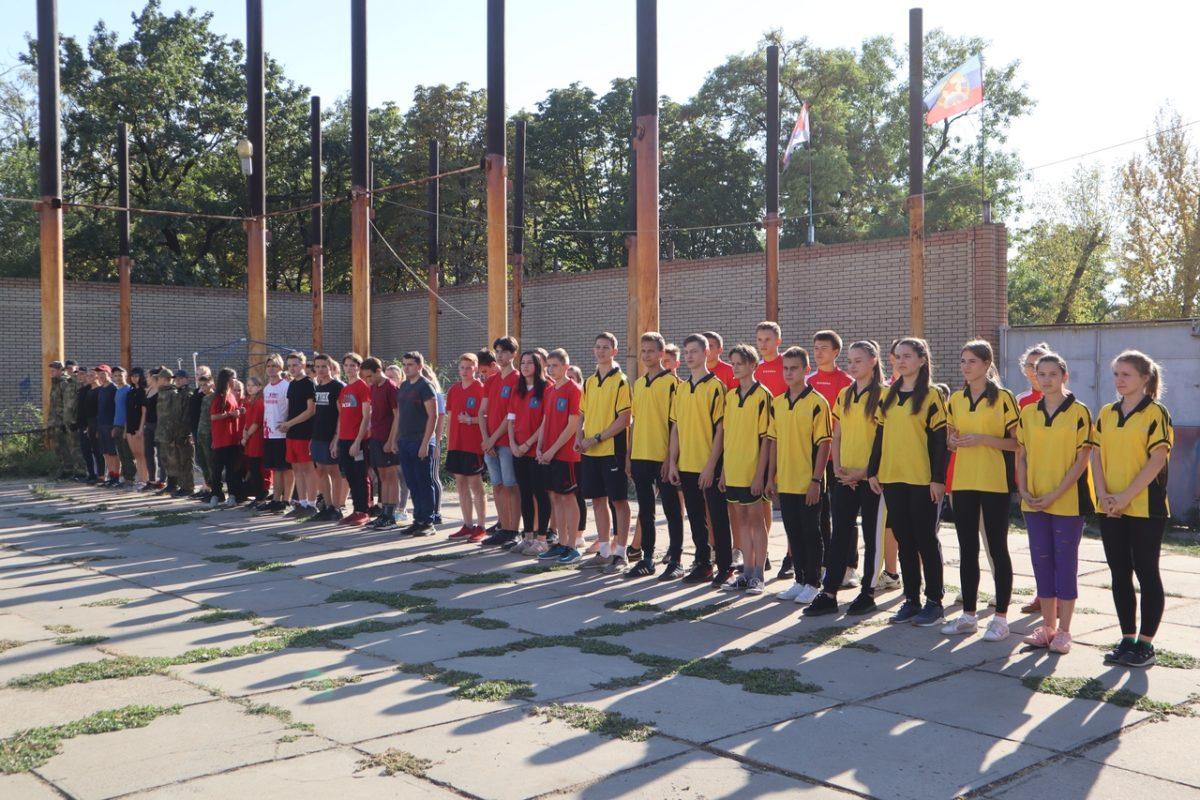 Активисты проекта «Доброволец» провели открытую тренировку для луганских школьников 1