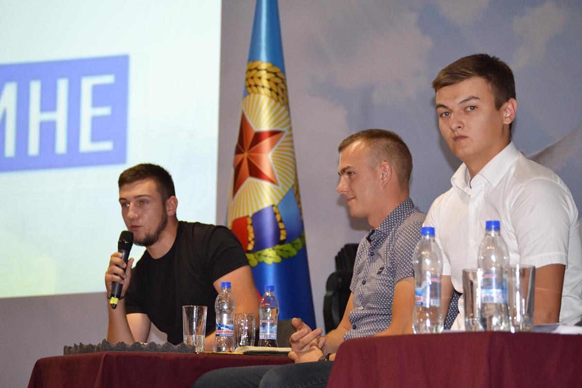 Луганским студентам рассказали о работе проектов ОД «Мир Луганщине»