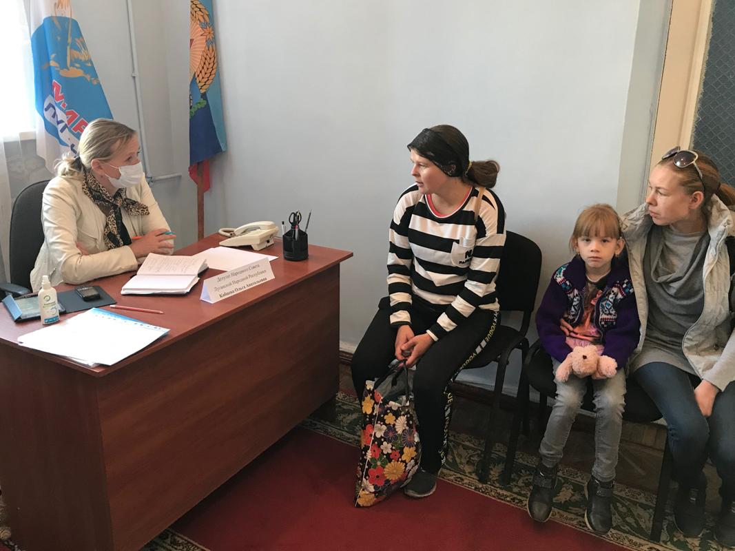Ольга Кобцева провела приём граждан в Краснодоне