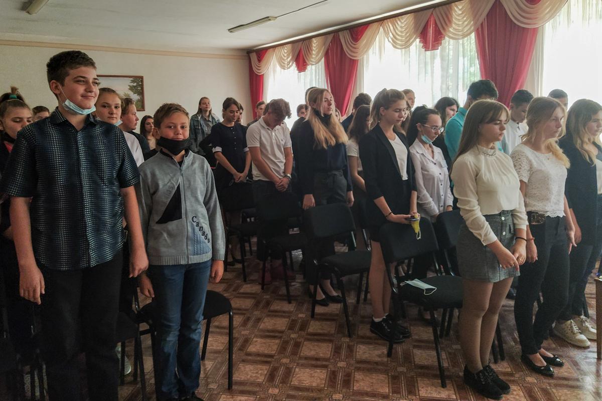 Молодогвардейцы Перевальска провели урок мужества в рамках проекта «Мы помним!» 2