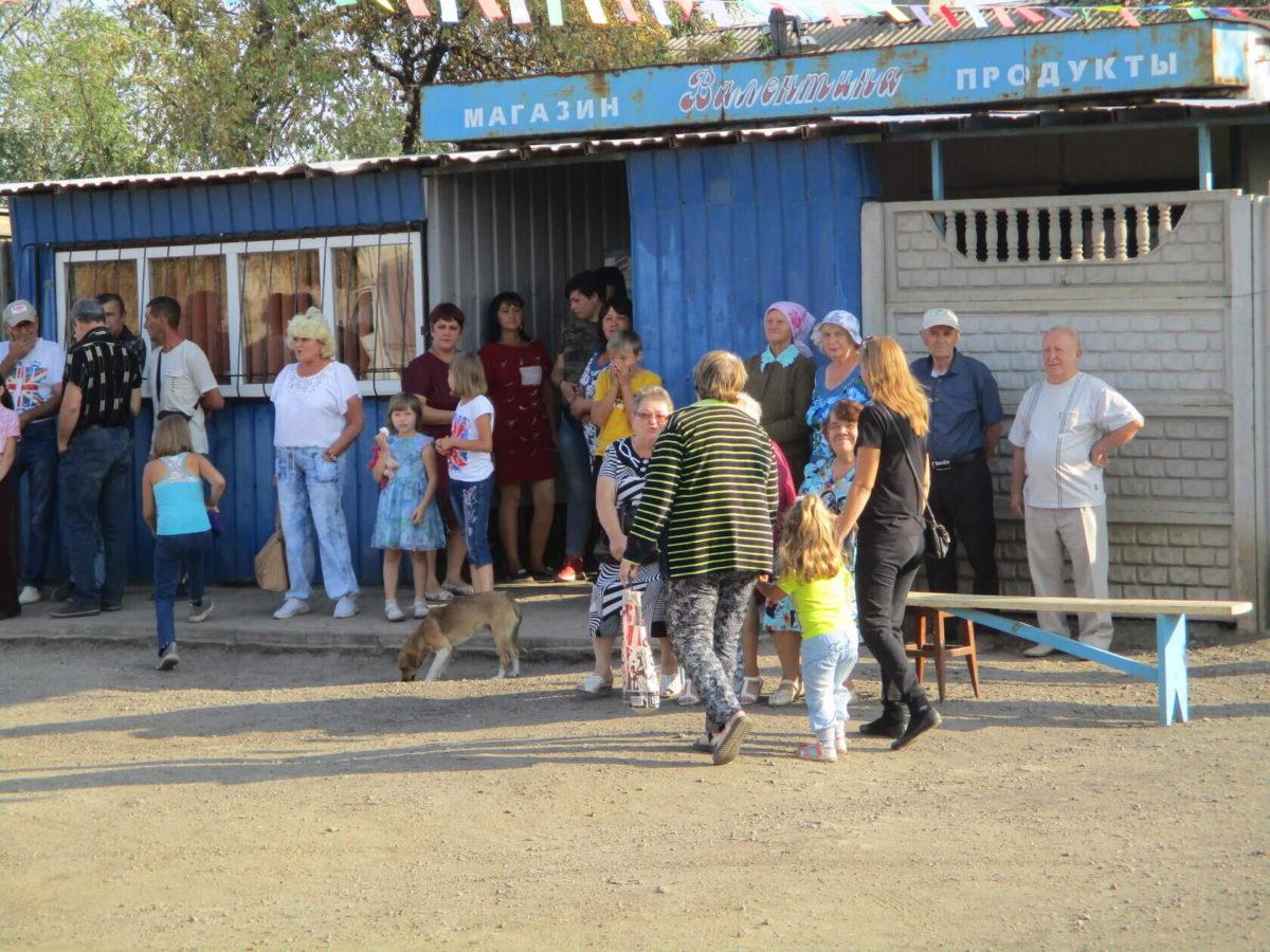 Активисты ОД «Мир Луганщине» приняли участие в праздновании Дня посёлка Изварино