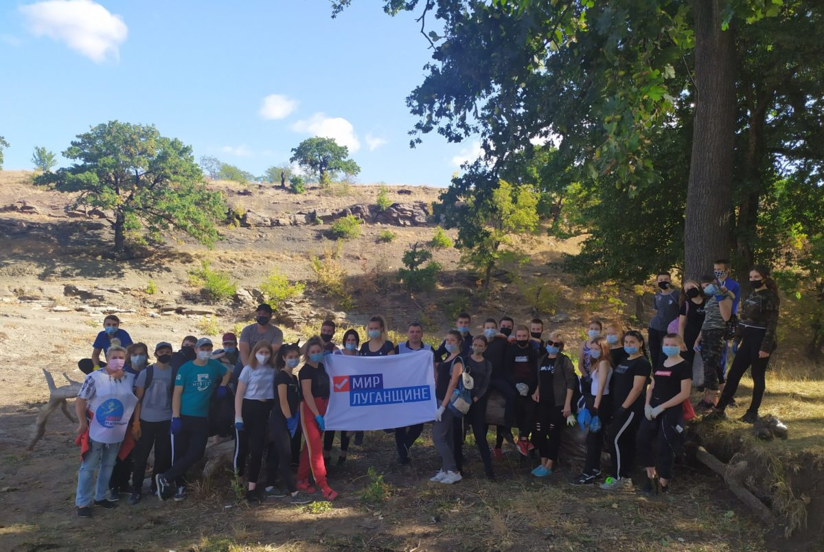 Активисты Вахрушево провели субботник у Яновского водохранилища