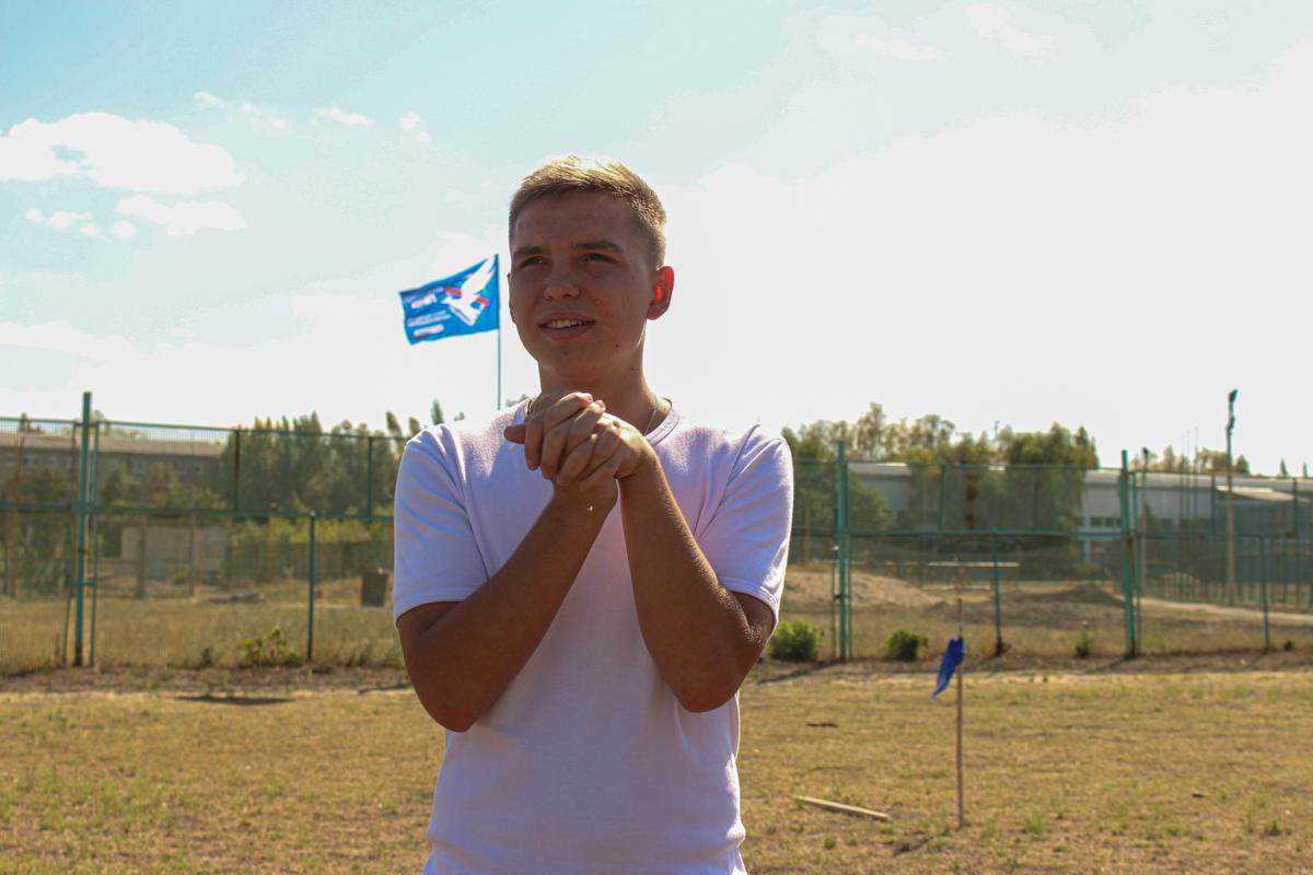 Для первокурсников из Луганска активисты проекта «Дружина» провели «Богатырские игры» 4