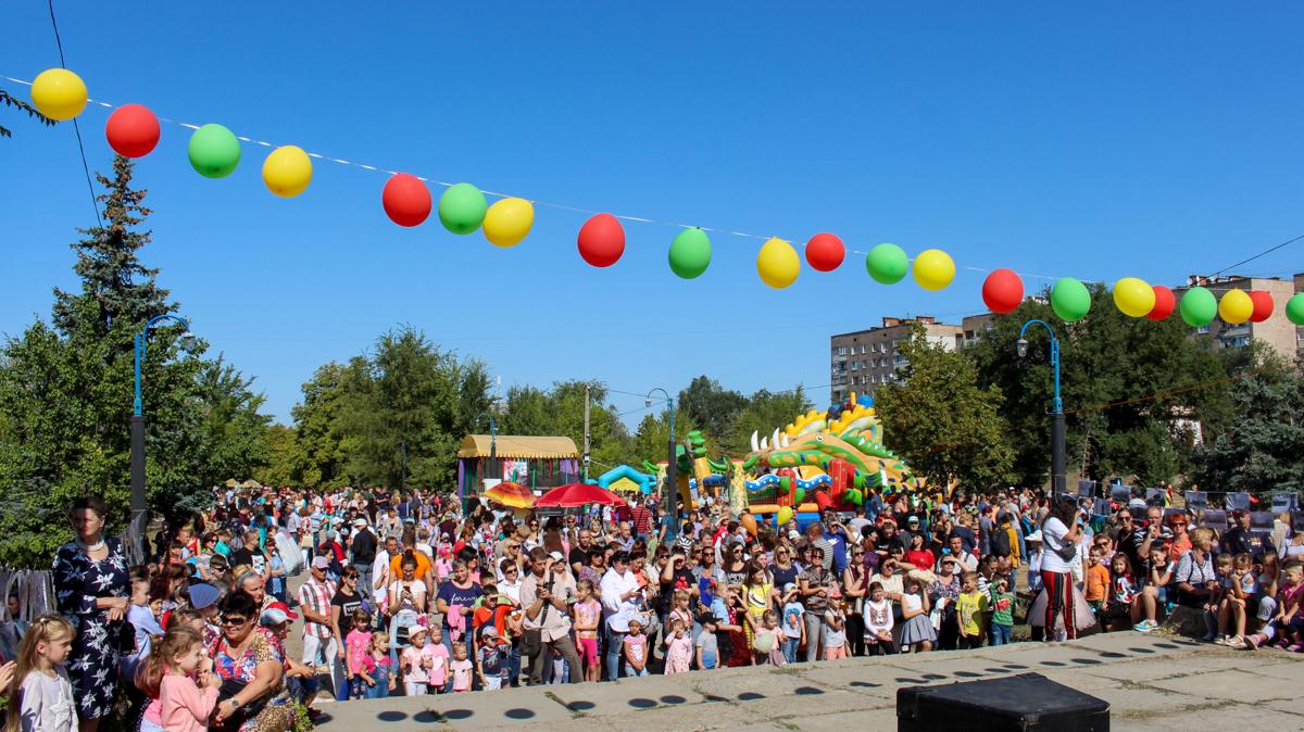 Луганчане отметили День города в парке «Дружба»