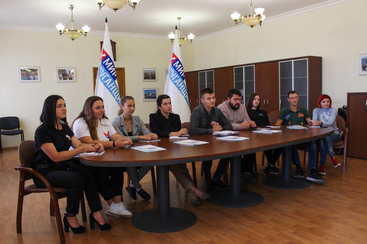 Активисты проекта «Молодая Гвардия» провели телемост с председателем Общероссийского общественного движения «Всероссийский межнациональный союз молодежи»