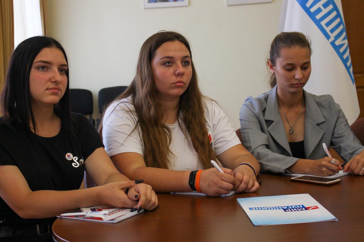Активисты проекта «Молодая Гвардия» провели телемост с председателем Общероссийского общественного движения «Всероссийский межнациональный союз молодежи» 3