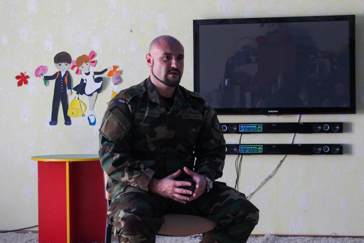 Для воспитанников Луганского детского дома № 1 провели урок мужества 4