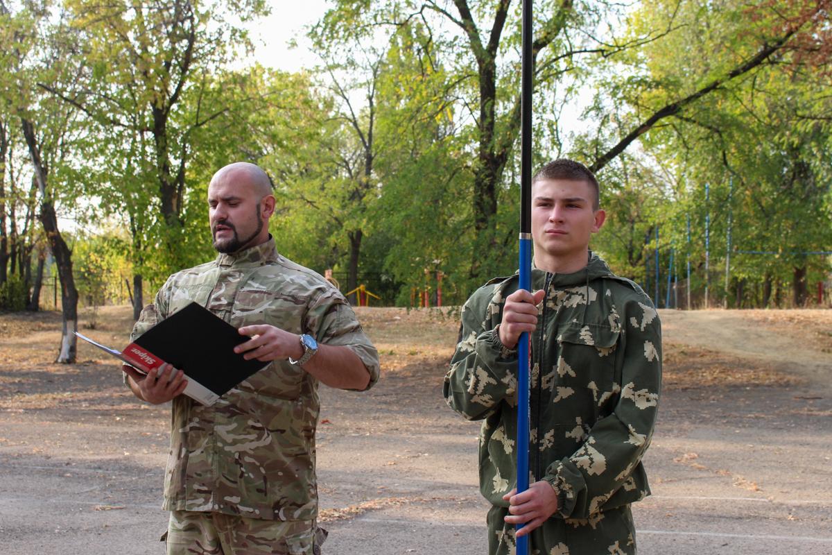 В Краснодоне состоялось открытие первичного отделения проекта «Доброволец» 3
