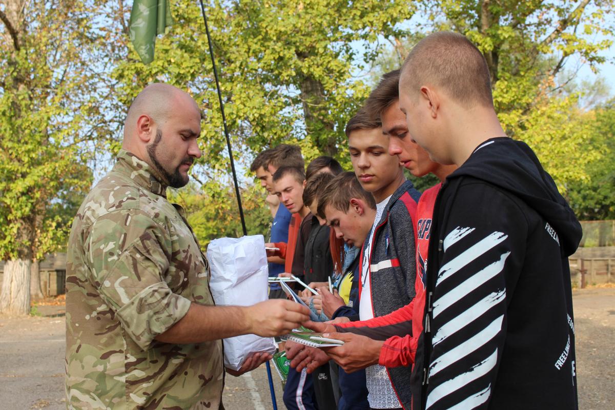 В Краснодоне состоялось открытие первичного отделения проекта «Доброволец» 4