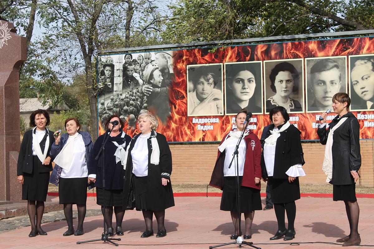 В Краснодоне отметили годовщину создания подпольной молодёжной организации «Молодая гвардия» 3