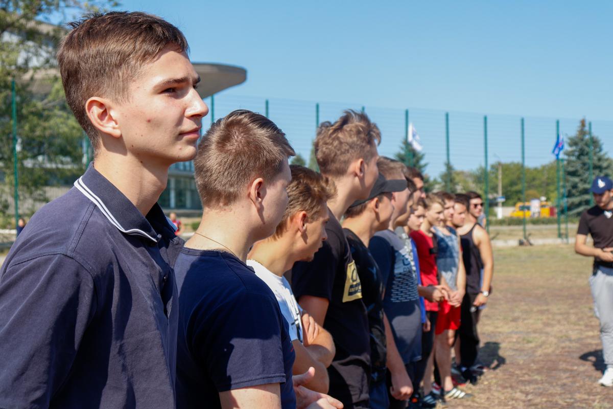 Активисты проекта «Дружина» провели «Богатырские игры» для луганских студентов 2