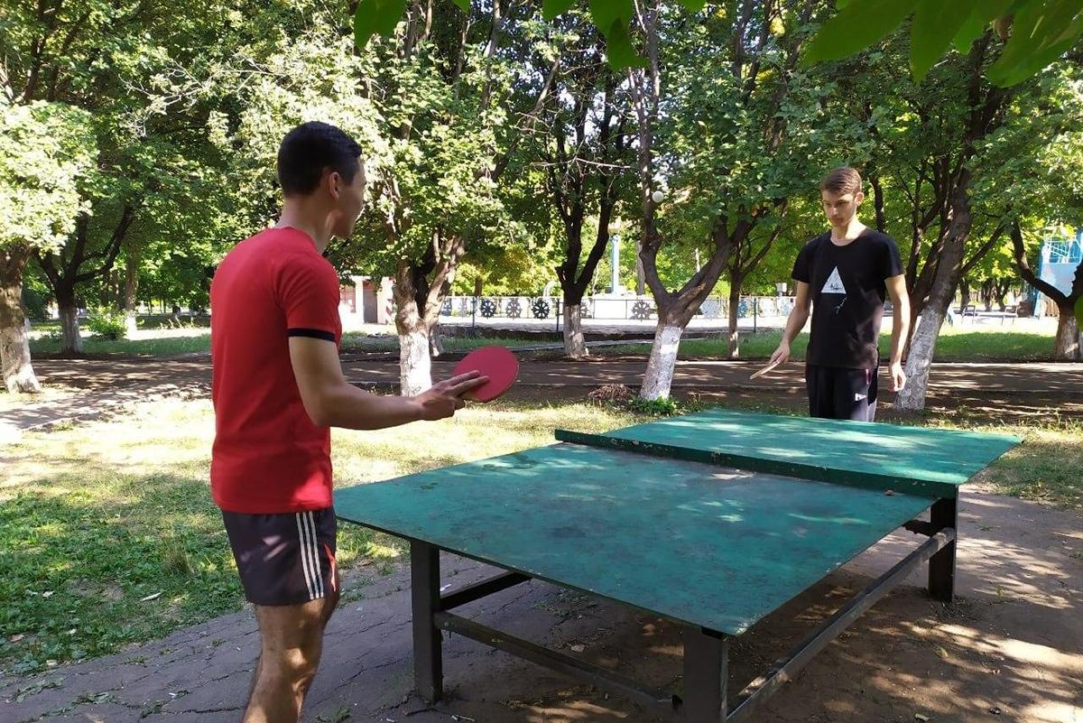 В Кировске активисты проекта «Молодая Гвардия» провели физкультурную разминку 2