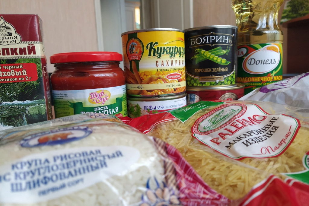 В Перевальском районе работники сельского хозяйства получили продуктовые наборы от проекта «Волонтёр»