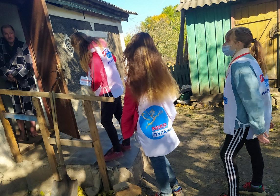 В рамках акции «Рука помощи» активисты помогли жителю Перевальска 2