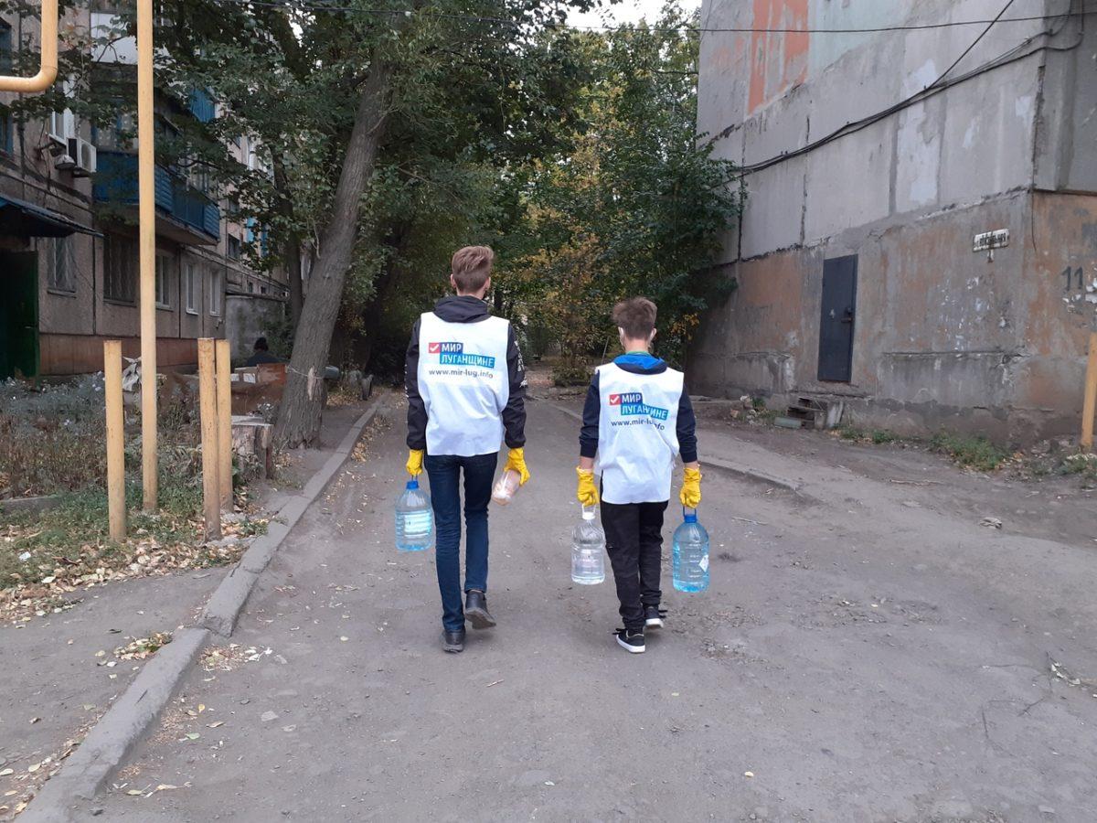 За неделю волонтёры акции «Рука помощи» помогли шести жителям Антрацита