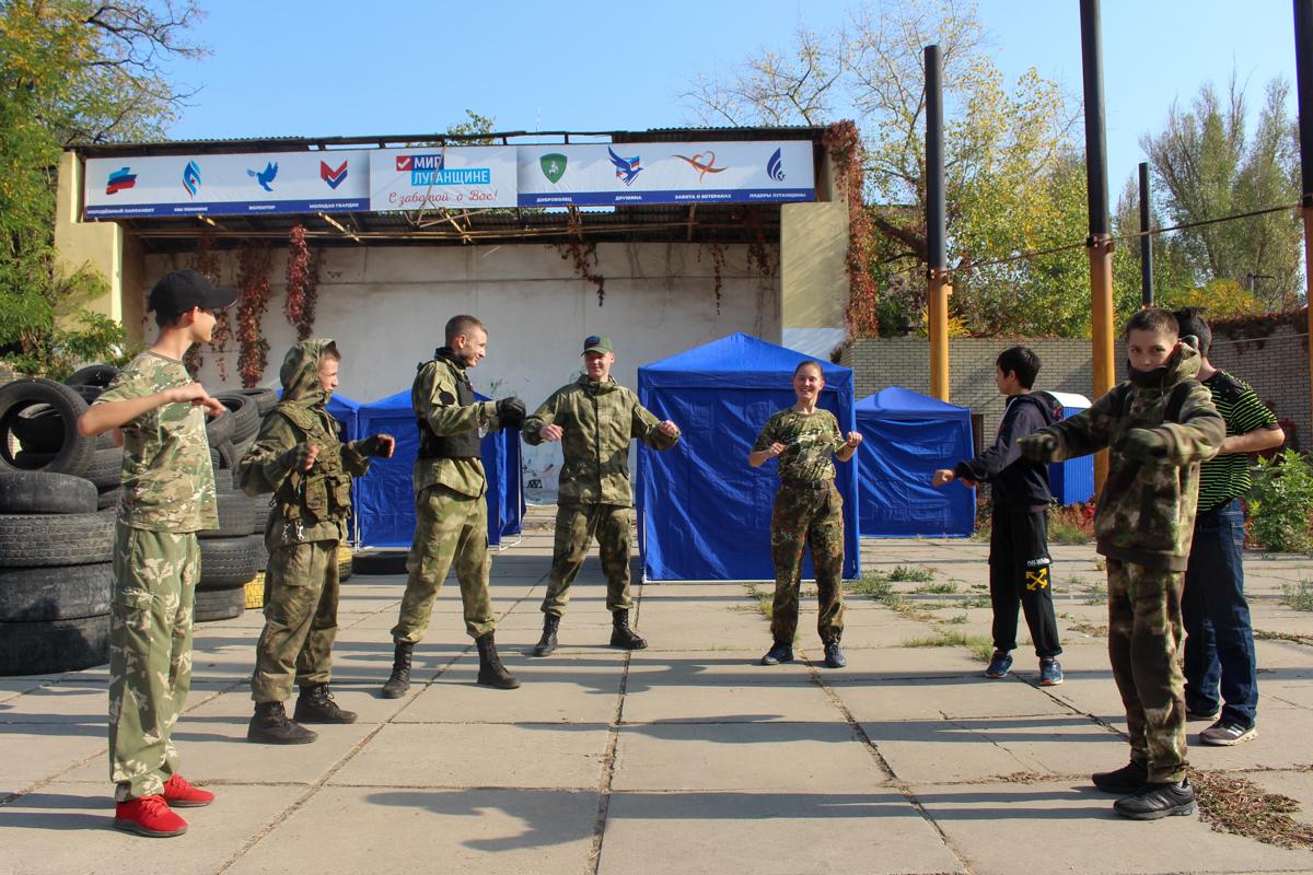 В Луганске прошло открытое занятие по страйкболу для активистов проекта «Доброволец» 1