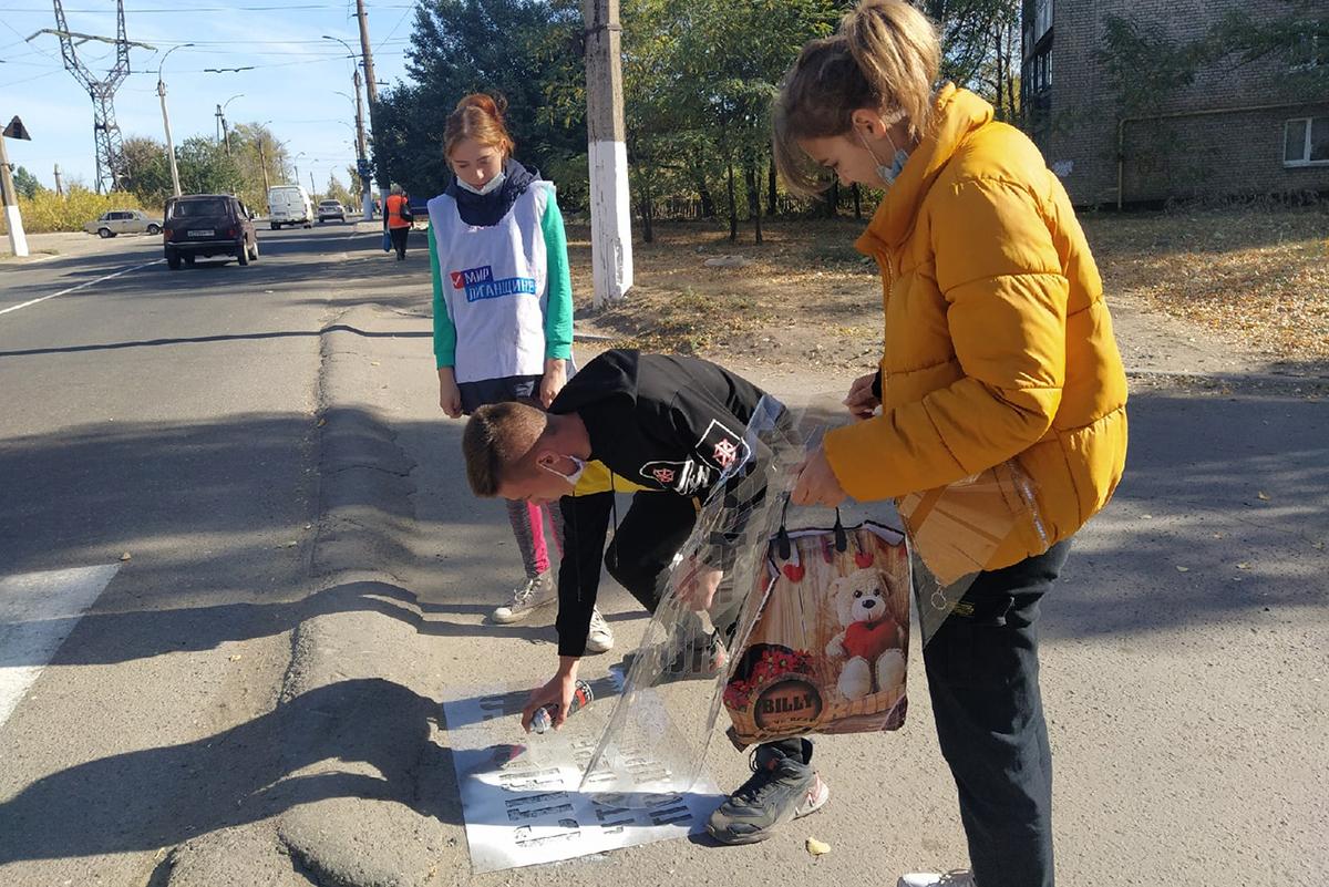 Молодёжь Перевальска провела приняла участие в акции «Жизнь дороже» 2
