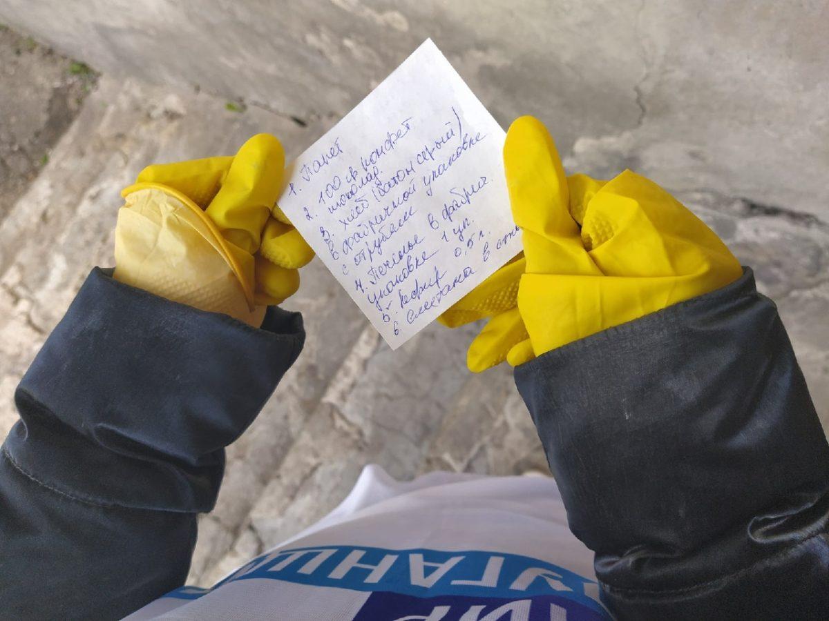 В рамках акции «Рука помощи» волонтёры помогли жительнице Перевальска 1