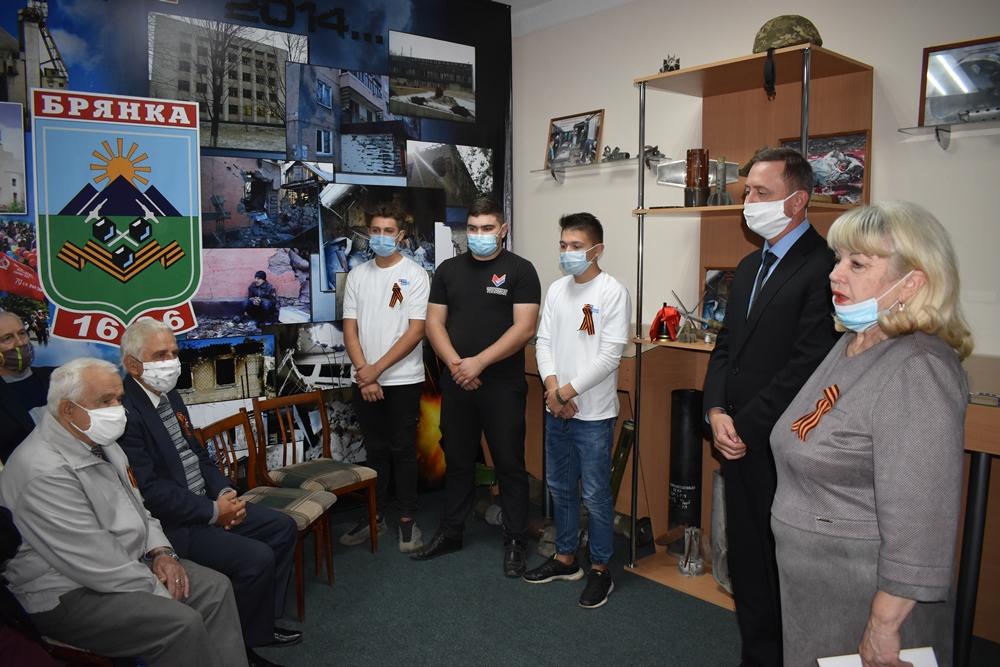 Глава Администрации Брянки встретился с активом проекта «Забота о ветеранах» 2