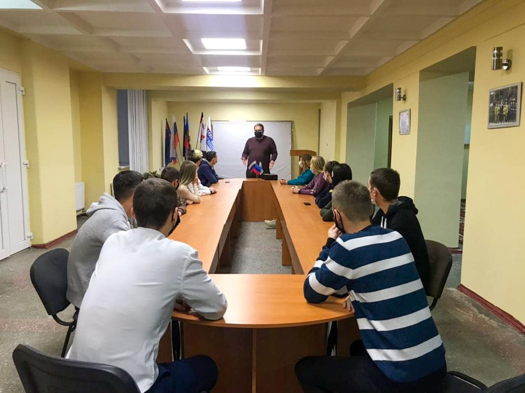 Встреча, приуроченная к Международному дню студента, прошла в Стаханове
