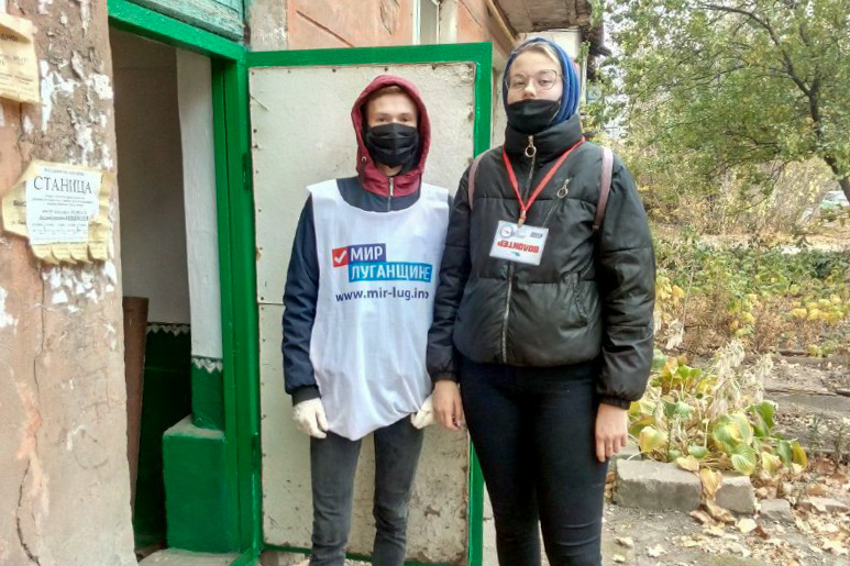 Жительнице Перевальска оказали помощь в рамках акции «Рука помощи» ОД «Мир Луганщине» 1
