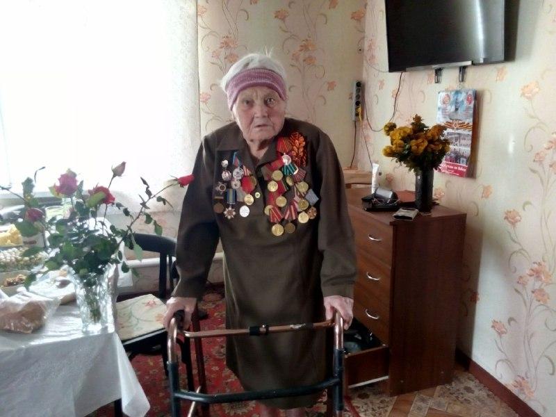 В Перевальском районе поздравили с днём рождения ветерана Великой Отечественной войны