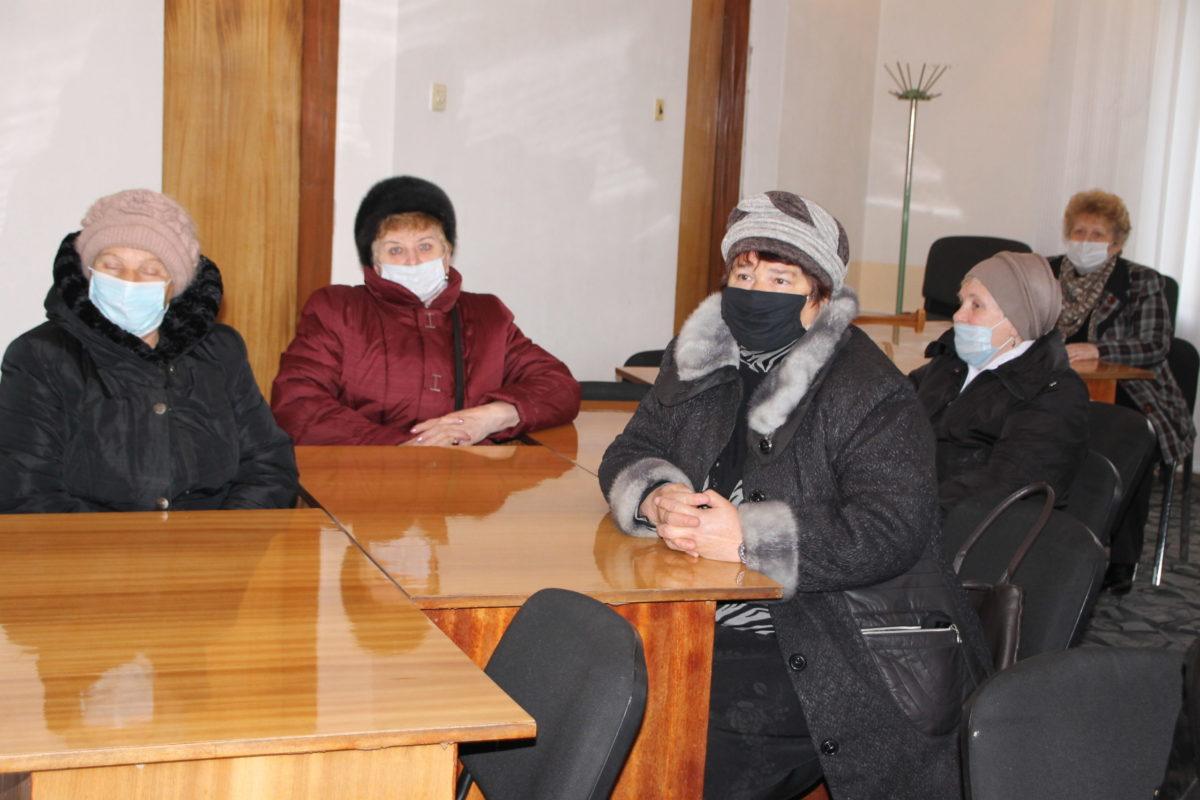 В Антраците представители ОД «Мир Луганщине» встретились с председателями органов самоорганизации населения