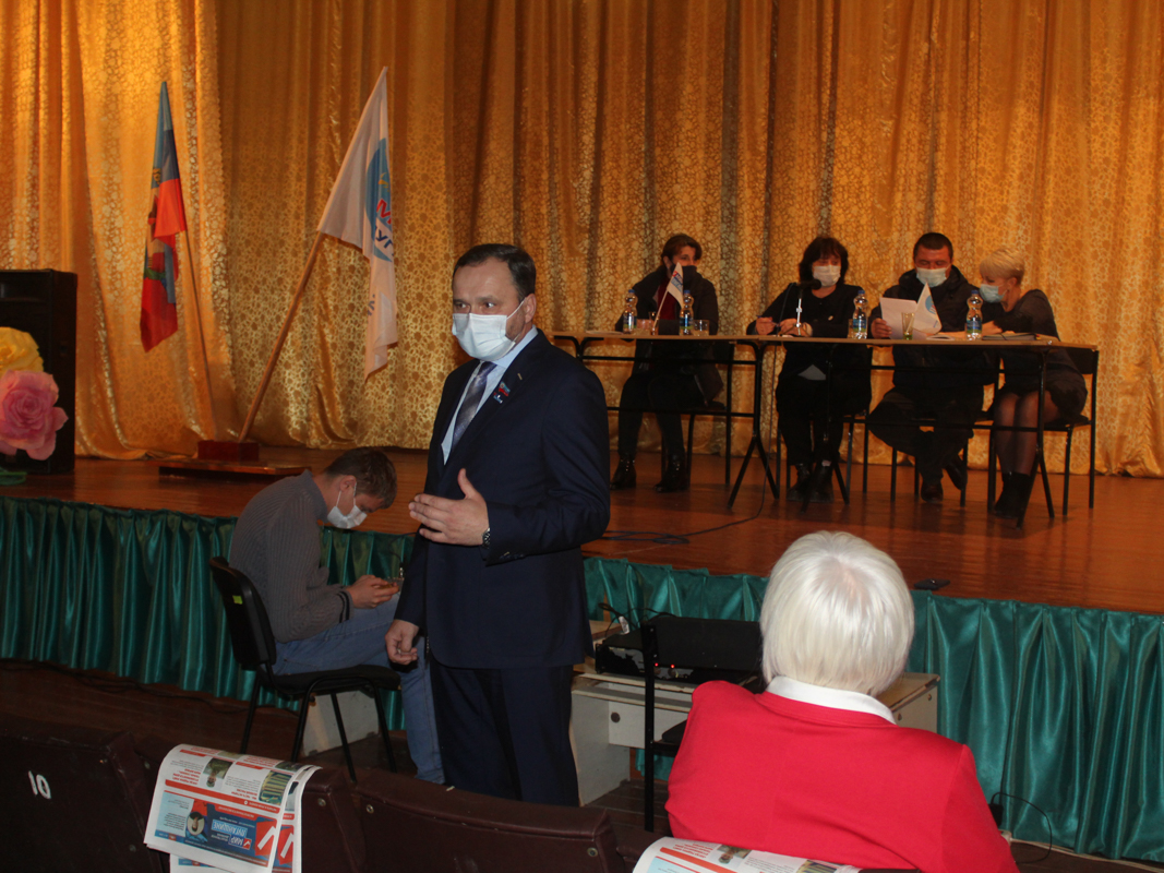 В поселке Фрунзе Славяносербского района открыли новое первичное отделение ОД «Мир Луганщине»