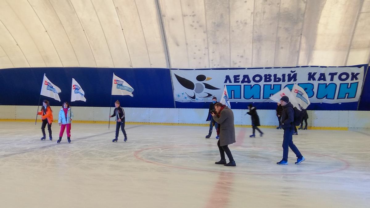 Дети луганских активистов получили билеты на посещение спортивно-развлекательного комплекса «Пингвин»