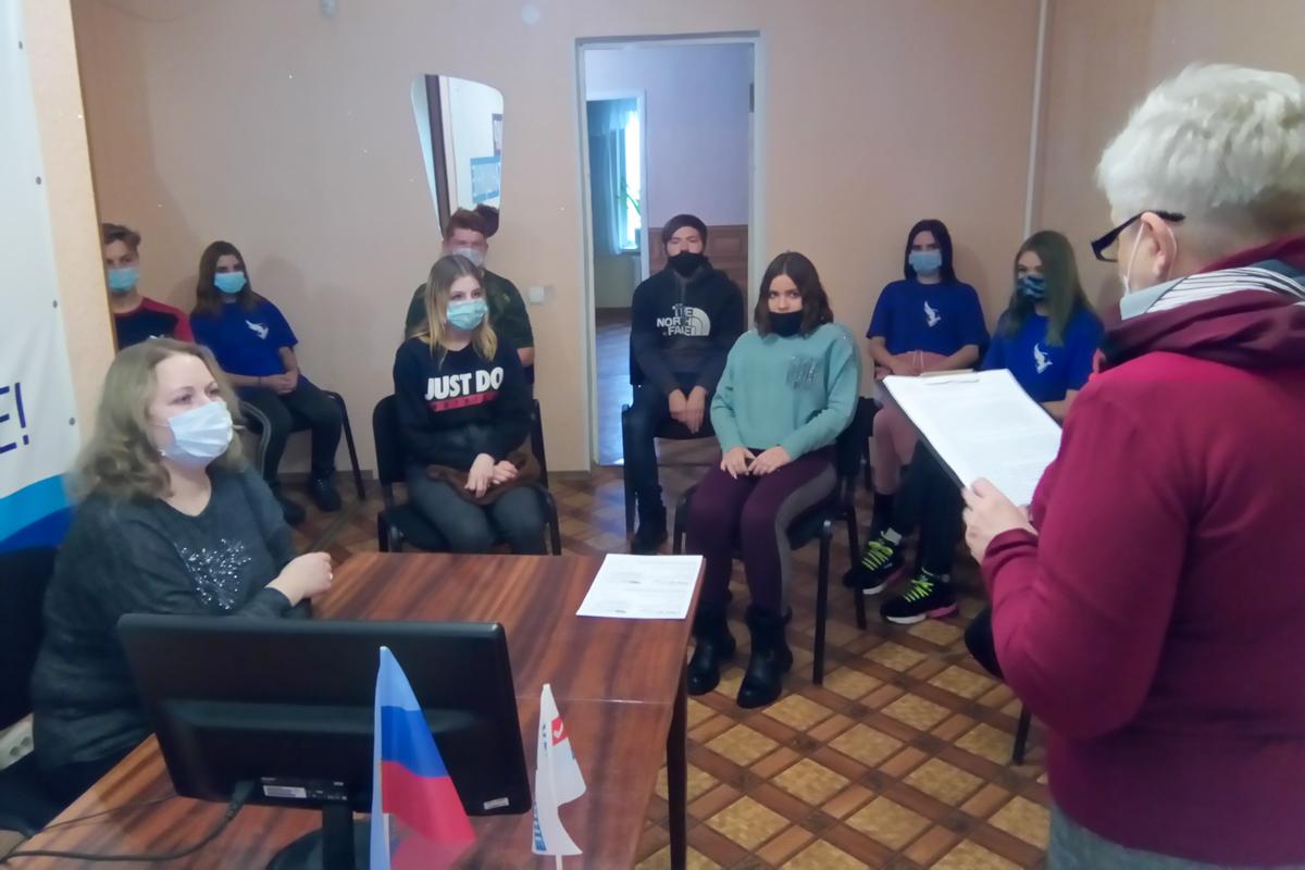 В Алчевске прошла встреча «Жизнь – Отечеству, честь – никому: знаменитые кадеты и прославленные казаки»