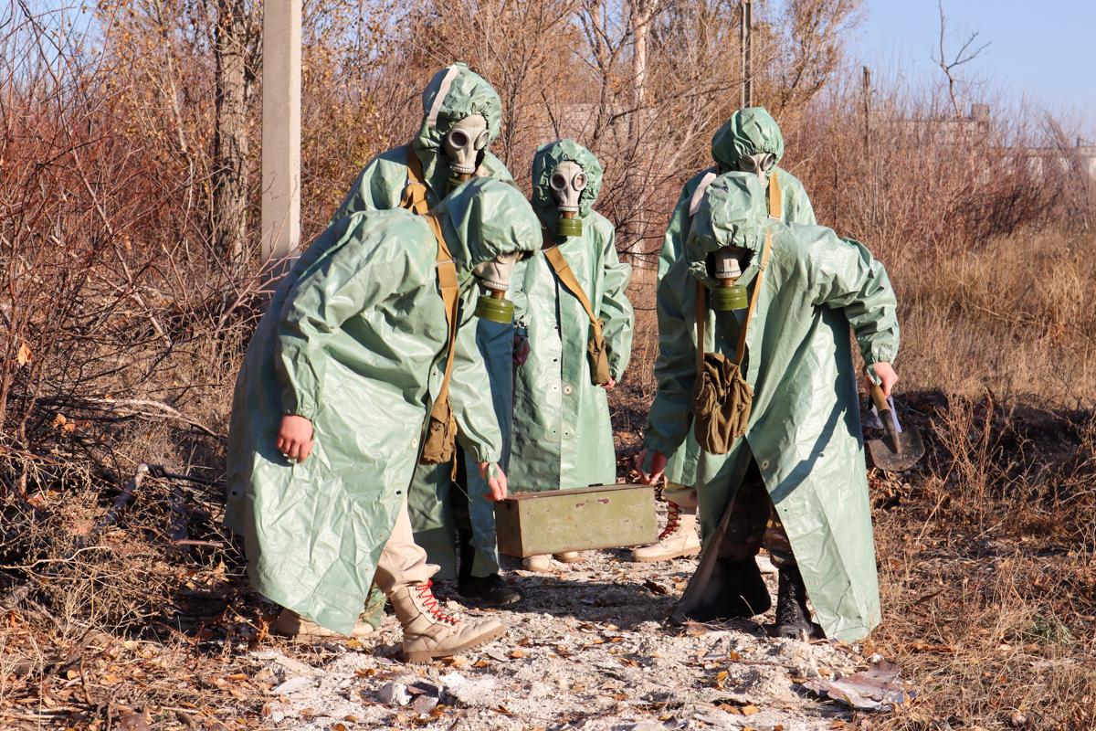 Активисты проекта «Доброволец» провели открытое занятие ко Дню радиационной, химической и биологической защиты