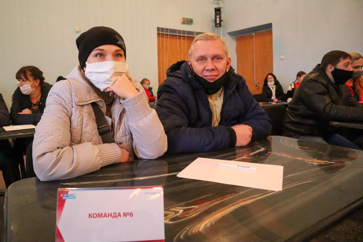 В Алчевске состоялась интеллектуально-развлекательная игра «Квиз-плиз»