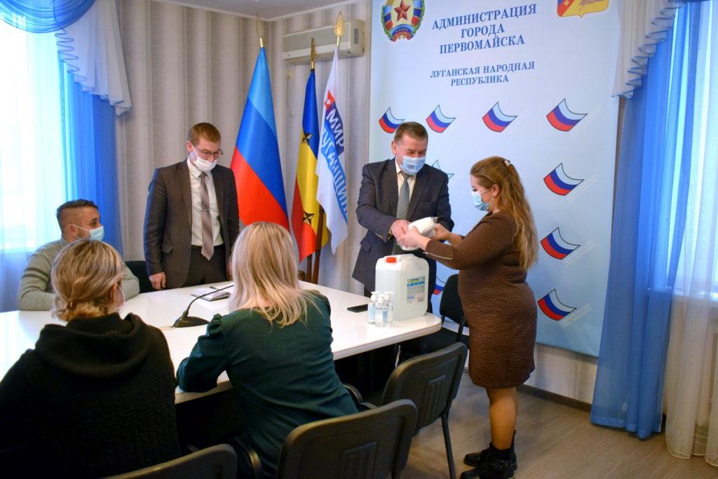 Волонтёры Первомайска обработали 100 обращений в рамках акции «Рука помощи» 1
