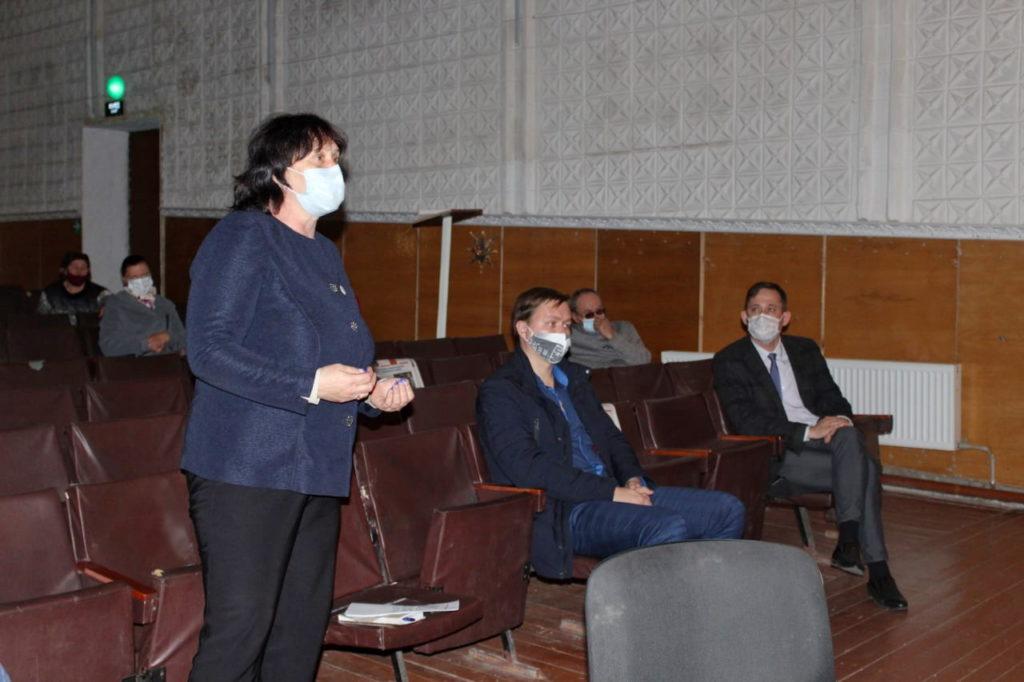 Депутаты встретились с активом новой первички посёлка Фрунзе Славяносербского района