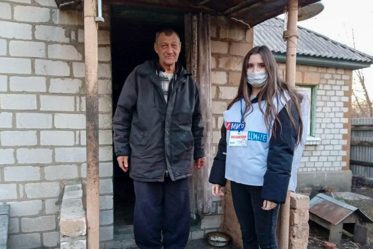 Волонтёры акции «Рука помощи» за неделю помогли 34 жителям ЛНР