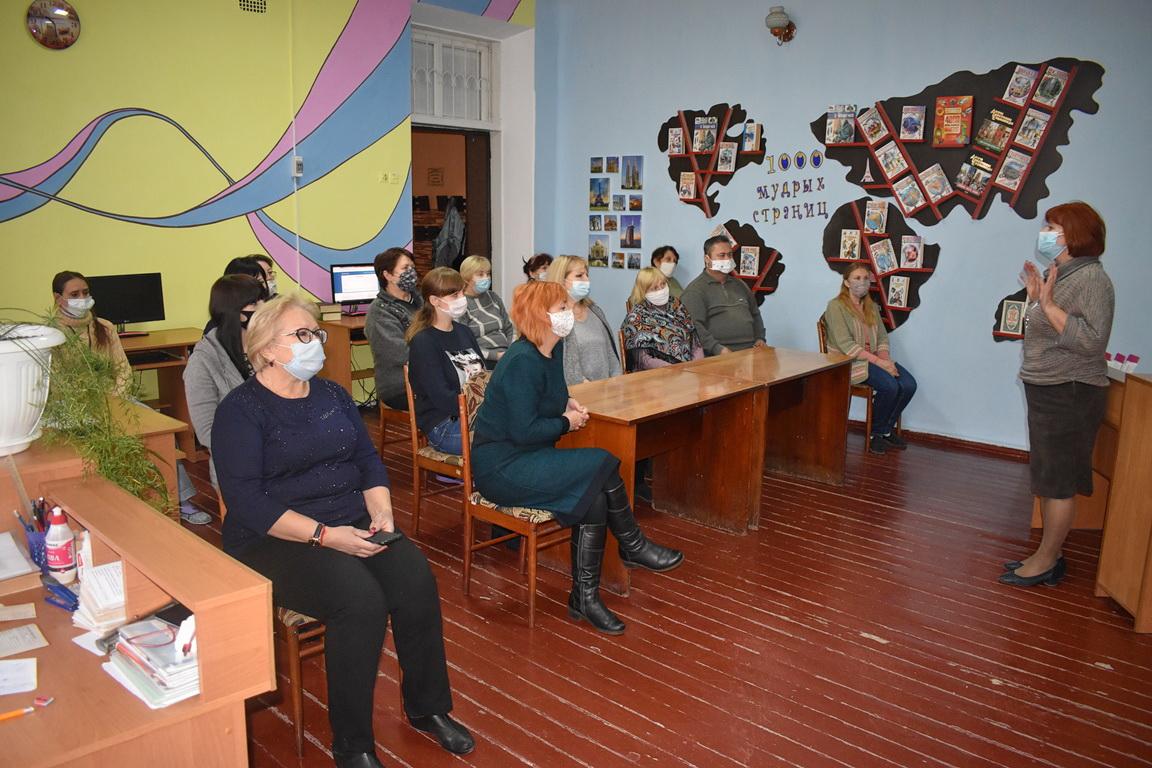 В первичном отделении ОД «Мир Луганщине» Брянки провели встречу с активистами