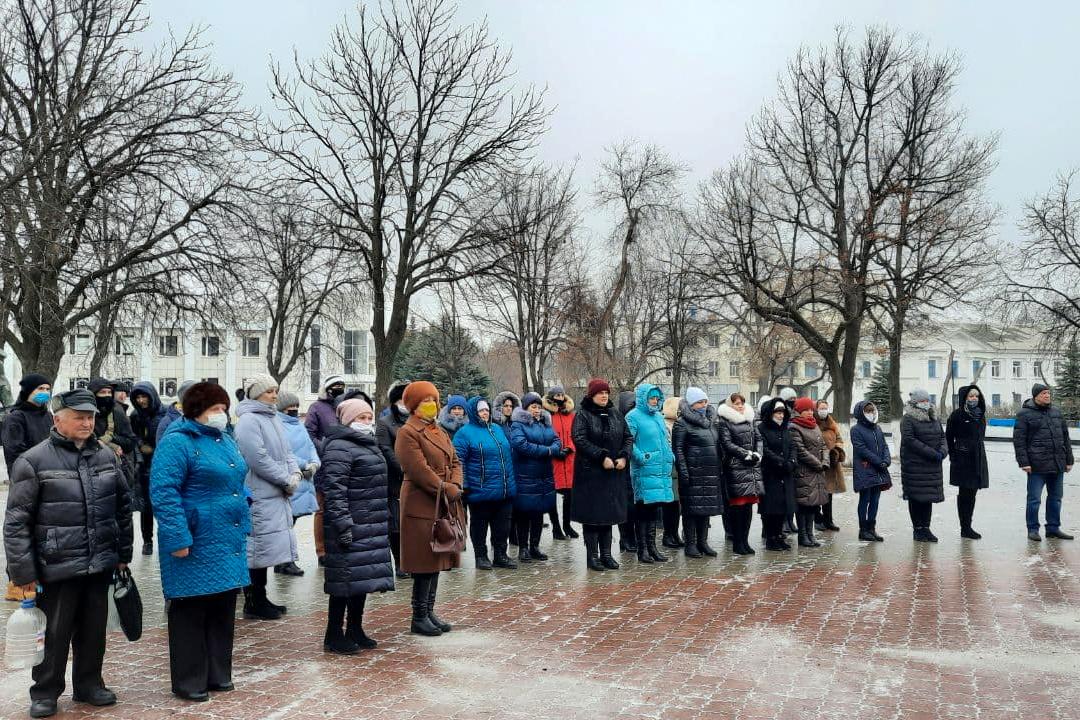Митинг, посвящённый Дню чествования участников ликвидации последствий аварии на ЧАЭС прошёл в Антраците 2