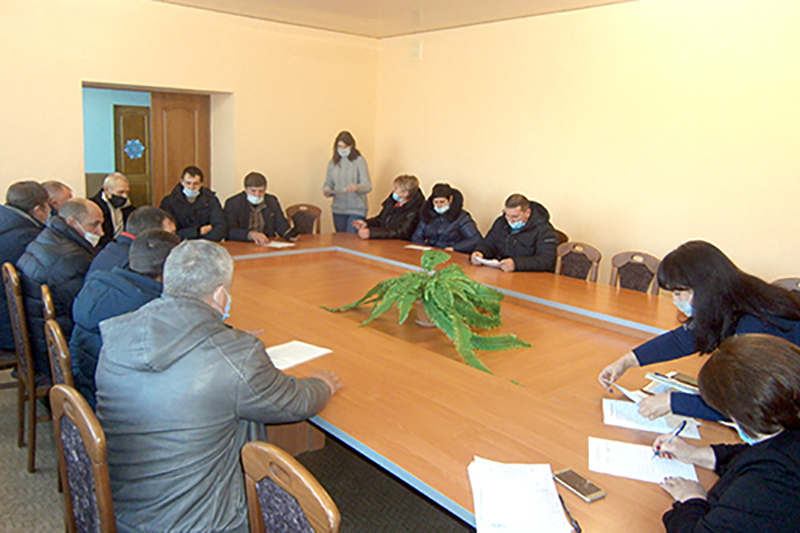 В Бобриковском первичном отделении состоялась встреча актива