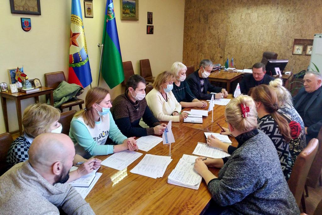 В Брянке с активом теротделения ОД «Мир Луганщине» подвели итоги работы за ноябрь