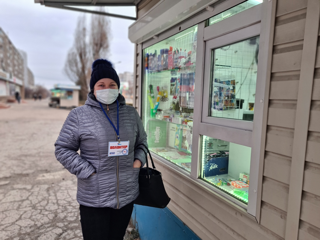Волонтёры акции «Рука помощи» помогли трём жителям Алчевска