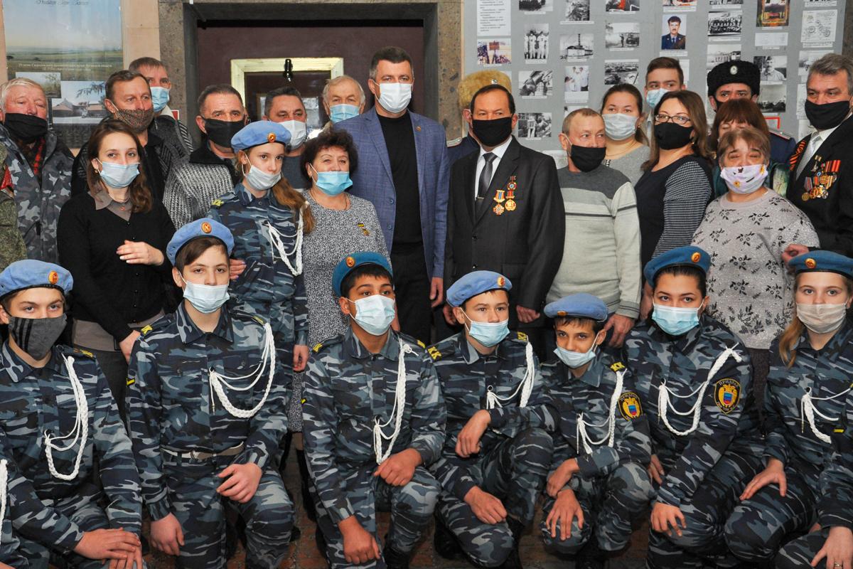 В Свердловске прошла встреча-беседа, приуроченная ко Дню чествования участников ликвидации последствий аварии на ЧАЭС