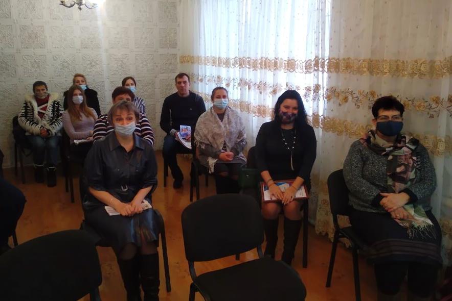 В посёлке Дубовский прошла встреча активистов Общественного движения «Мир Луганщине» по итогам 2020 года