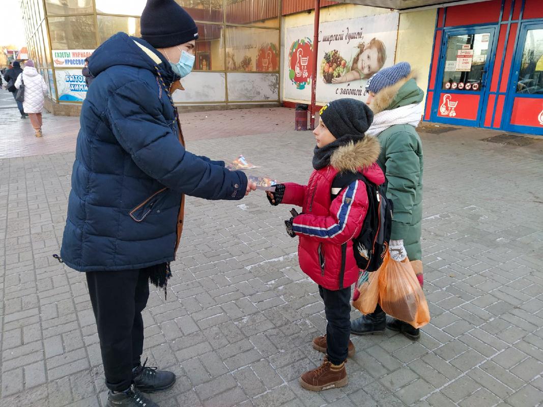 В Перевальске провели урок мужества ко Дню Героев Отечества
