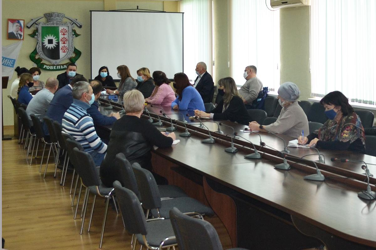 В Ровеньках заместитель председателя теротделения встретился с активом первичных отделений