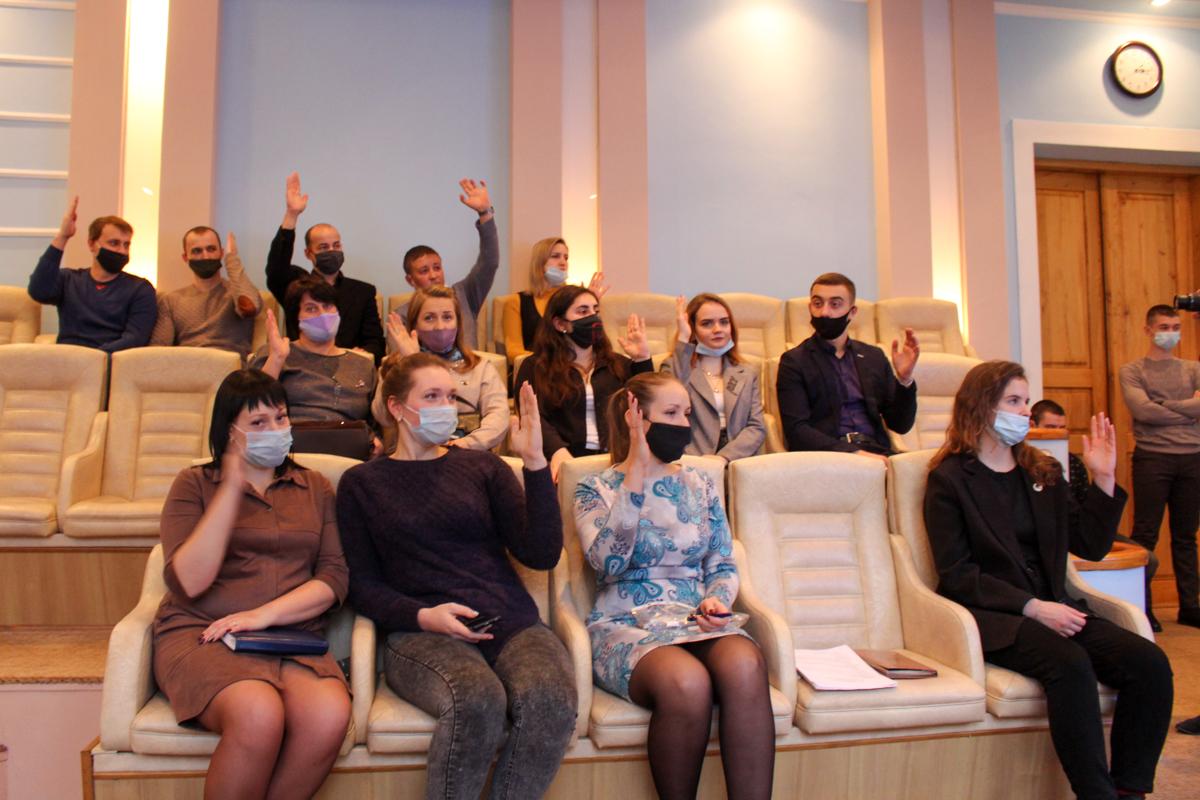 Отчётно-выборное собрание Первичной организации ЛГПУ ОД «Мир Луганщине» состоялось в Луганске 1