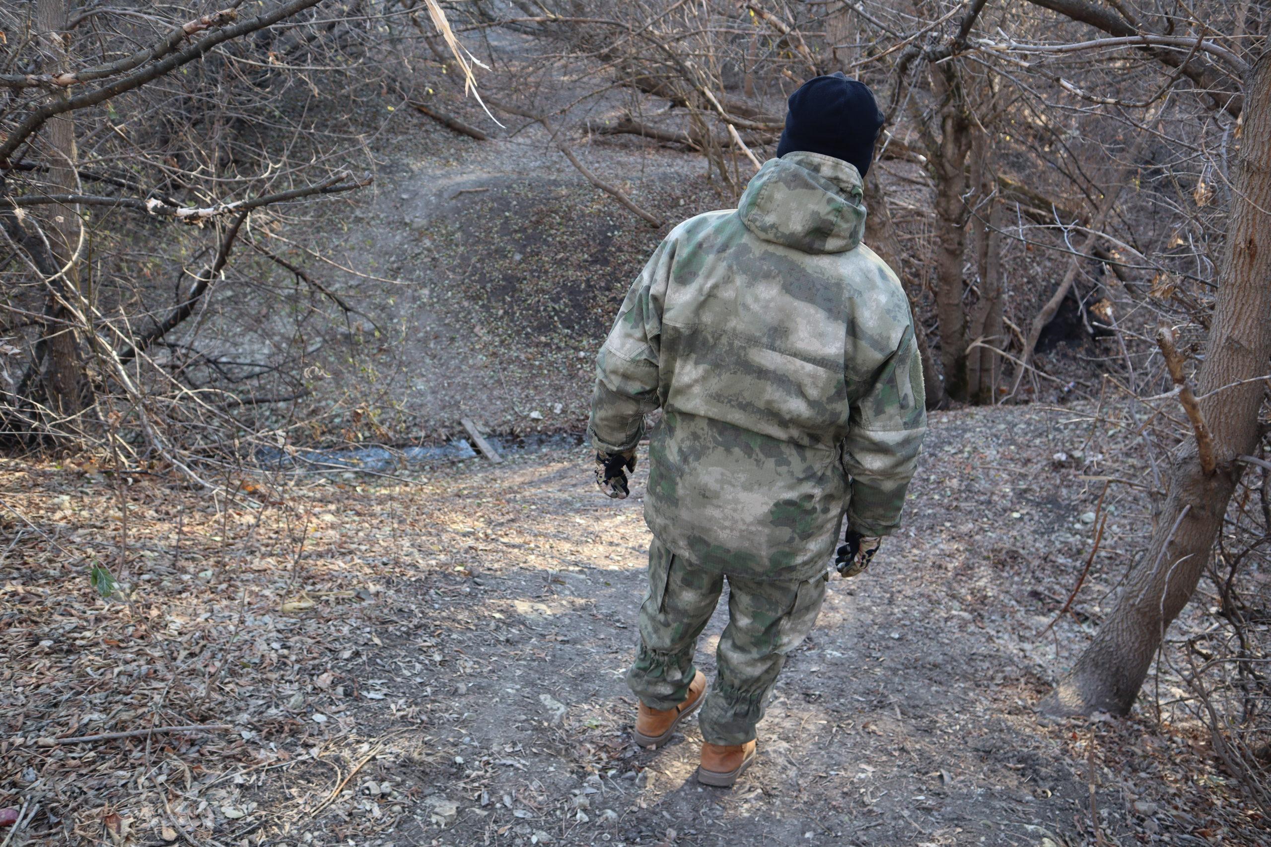 В Луганске активисты проекта «Доброволец» провели тренировку по спасению заблудившихся людей