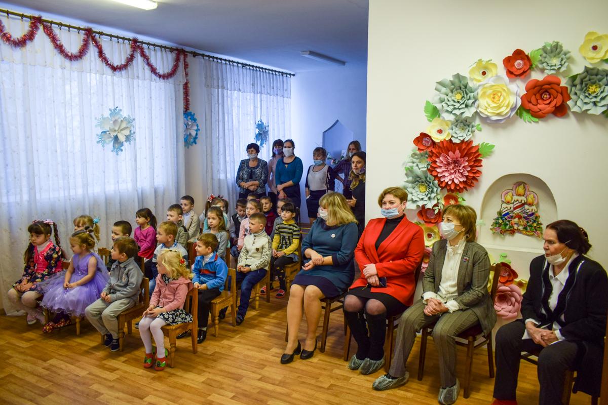 Светлана Алёшина поздравила воспитанников дошкольных учреждений города Первомайска 2